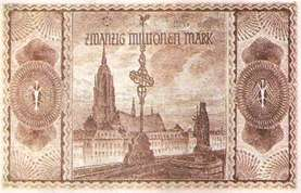 20 миллионов марок 1923 г.