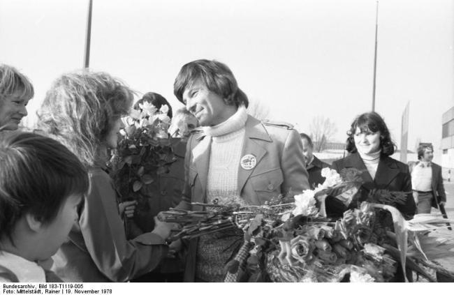 Dean Reed in East Berlin