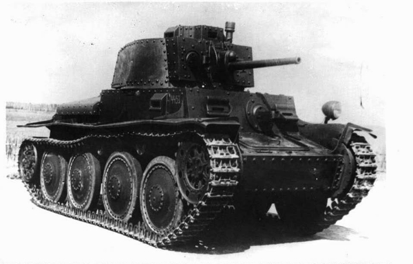 LT vz. 38 (PzKpfw.38(t) Ausf.A)