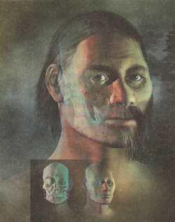 Кенневикский человек, реконструкция лица