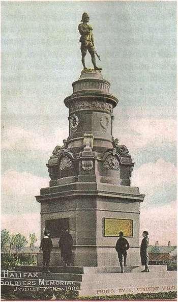 Мемориал в Галифаксе (Англия), посвященный жертвам Англо-бурской войны