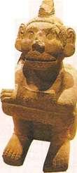 Владыка загробного мира ацтеков Миктлантекутли