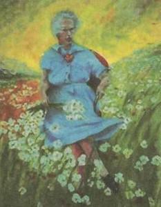 """""""Люси на поле с цветами"""" - начало экспозиции Музея плохого исскуства"""