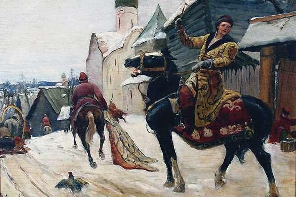 Опричники царя Ивана IV