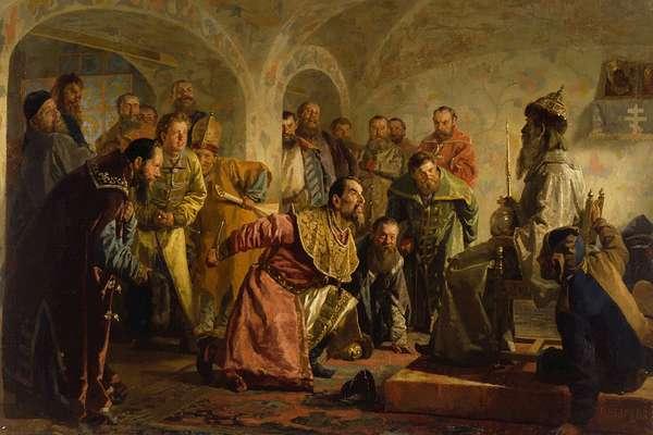 Опричнина при дворе Ивана IV