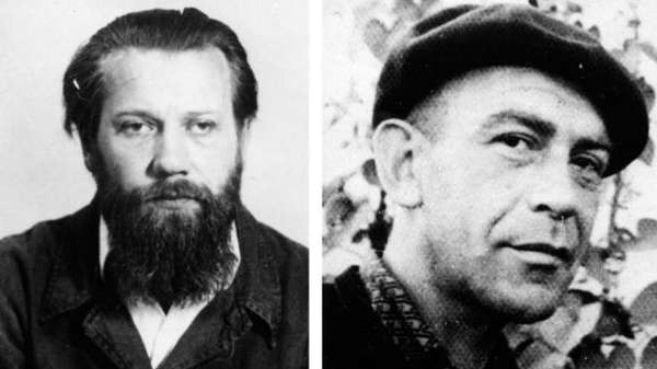 Андрей Синявский и Юлий Даниэль