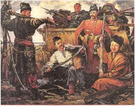 Запорожцы готовились помочь французским мушкетерам